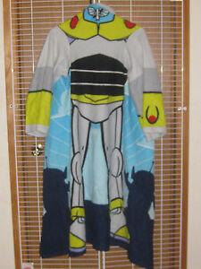 Image Is Loading Disney Pixar Toy Story Bud Lightyear Bathrobe Large