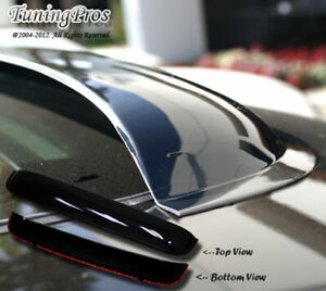 Vent Shade Outside Mount 2mm Window Visor Sunroof 3pcs Combo For Acura RSX 02-06