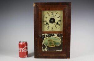 Antique Ansonia Waterbury SETH THOMAS Miniature OG Mantel Clock Project