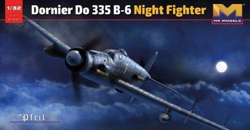 HK MODELS DORNIER DO335 B-6 NIGHT FIGHTER 1 32 01E21