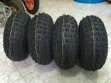 4 Gomme Unilli Tractor 145x70-6 Per Mini Quad 4t,Treno Completo 2 Ant.+2 Post.