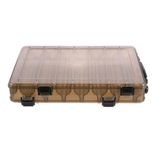 1Pc Fishing Box Double-layer Bait Storage Box Fishing Tackle Box for Angling