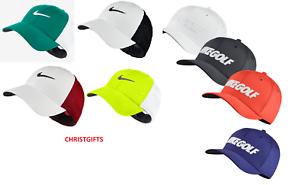 New-Nike-Golf-Tour-Mesh-FlexFit-DriFit-Cap-Hat-Various-M-L-XL-All-Size