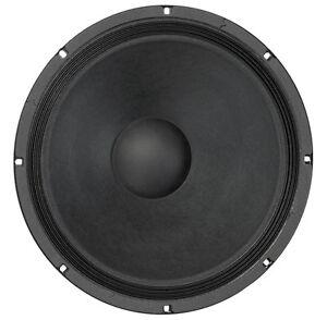 "Eminence Alpha-15A 15"" Driver 8 ohm 400 Watt 97dB 1.5"" Replacement Speaker"
