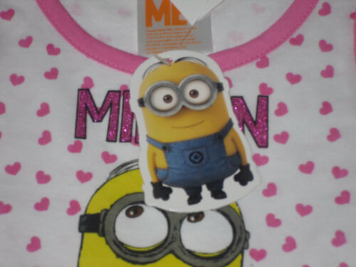 Girls Dress Minions Summer Outfit 2-8 Years