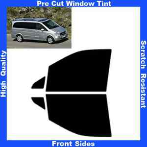 Pre-Cut-Window-Tint-Mercedes-Viano-Long-Base-2003-2010-Front-Sides-Any-Shade