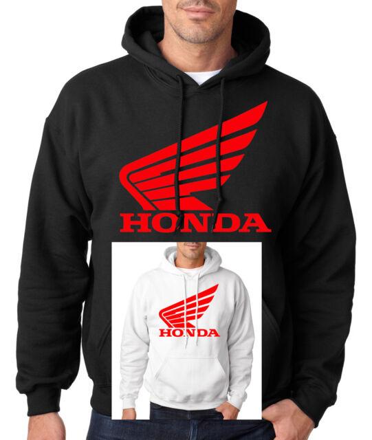 HONDA IN RED HOODIE Racing Motocross ATV CBR Hooded Sweatshirt OEM Goldwing US