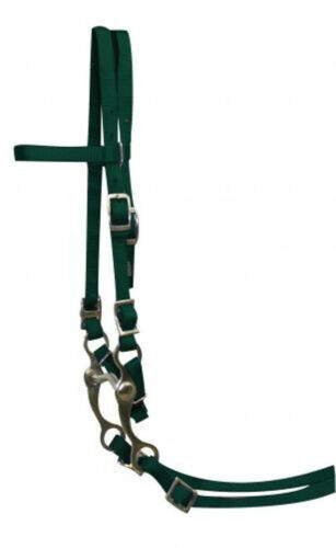 New Showman Nylon Pony Bridle Complete with Reins /& Bit FREE SHIPPING!