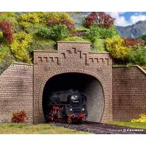 VOLLMER-42503-1-87-HO-DECORS-2-ENTREES-DE-TUNNEL-2-VOIES-H0