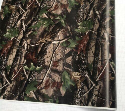 Break Up Real Camo Tree Vinyl Car Wrap PVC Adhesive Camouflage Film Truck Hood