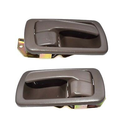 Interior Inside Door Handle Left /& Right 2PCS For Toyota Camry 2002-2006 Brown