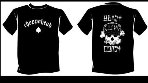 Choppahead Beast Coast Men/'s T-Shirt made in the USA!