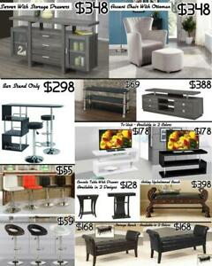 MODERN BAR UNIT AND BAR STOOLS ON SALE  FROM $55 City of Toronto Toronto (GTA) Preview