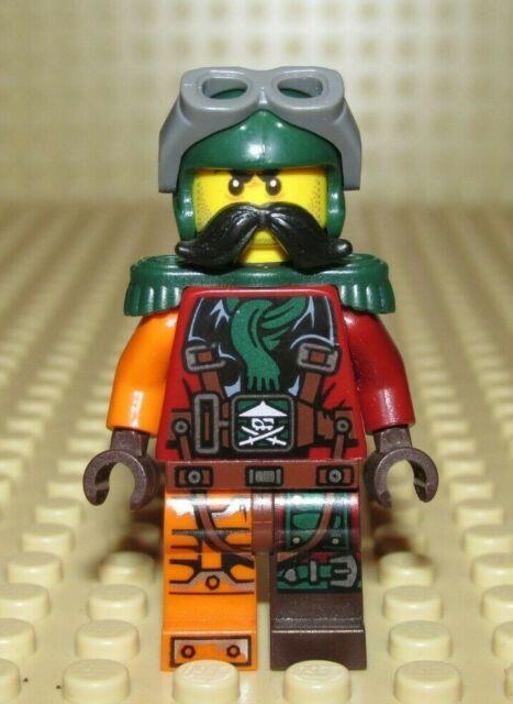Lego ninjago minifigure Flintlocke set 70601-new 100/% original