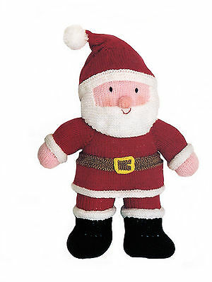 """KNITTING PATTERN 9182 Instructions to make FATHER CHRISTMAS TOY 13"""" height in DK"""
