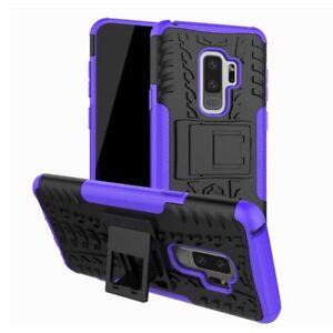 Carcasa-hibrida-2-piezas-Exterior-Purpura-Funda-para-Samsung-Galaxy-S9-g960f