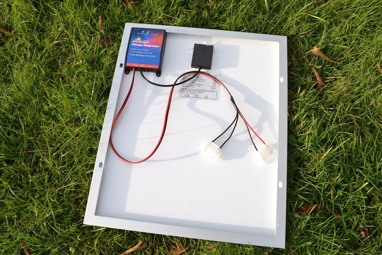 20 20 20 vatios 12 Voltios Panel Solar Para Baterías ANATEC catamarán Cebo Barco 42c579