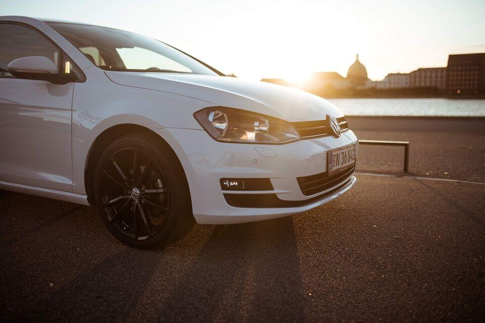 VW Golf 7 Nysynet og nyserviceret  hos VW