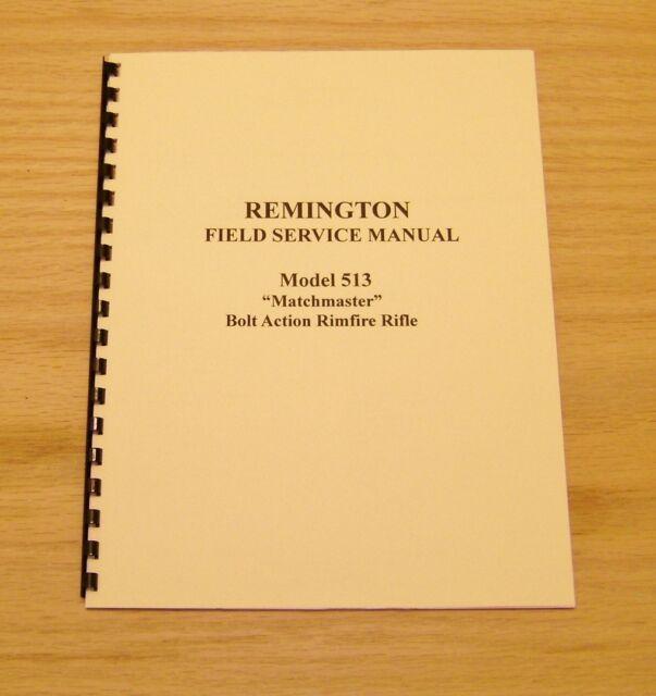 Remington Model 513 510 511 512 514 521 T Service Manual 10 Pages 39