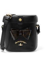 VIVIENNE WESTWOOD ANGLOMANIA leather shoulder bag - LAST ONE