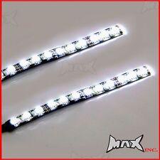 14CM Flexible Stick On Day Time Ultra Bright Safety LED Light Strips - 12 Volt