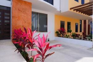 Departamento en Renta AMUEBLADO, 2 Recamaras, Arbolada, Av. Huayacán, Cancún