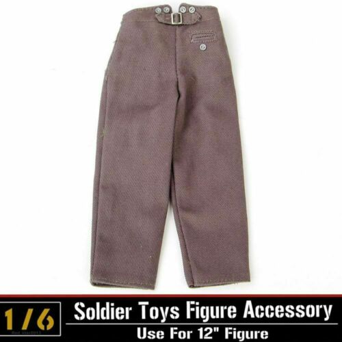 1//6 Dragon DML German Clothes Soldier Pants Trousers Custom Clothing Parts Acces