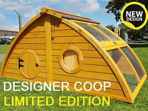 LARGE-CHICKEN-COOP-RUN-HEN-HOUSE-POULTRY-NEST-BOX-COOPS-RABBIT-HUTCH-HOBBIT-HALF