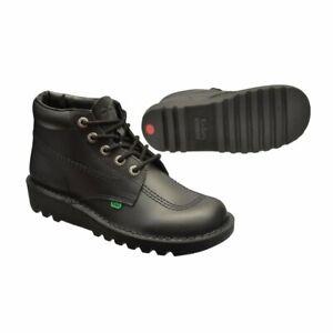 KICKERS KICK HI M CORE BOOTS, EU43, UK8, BLACK, KF0000101