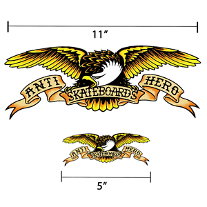 Anti-Hero-Eagle-Logo-Sticker-Skateboard-Decal-5-034-or-11-034-Available-Eagle-Harley