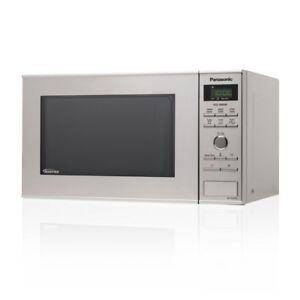 Panasonic-nn-sd27hs-solista-microonde-1000-W-Inverter-Microwelle-23l-Acciaio-Inossidabile
