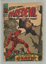DAREDEVIL The Man Without Fear 20 SILVER AGE MARVEL COMIC BOOK Owl ap CIRCA 1966