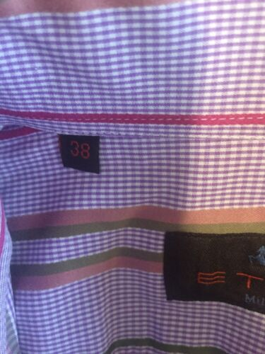 ETRO MILANO MADE IN ITALY MEN SHIRT SIZE 38/S