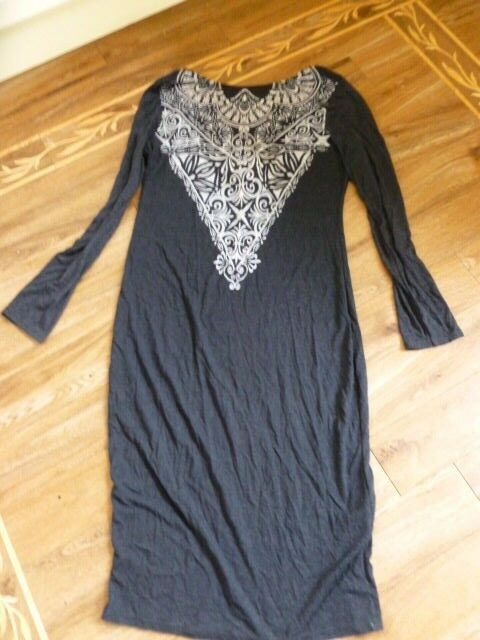 BNWT  Lipsy Charcoal Dress - Size 18