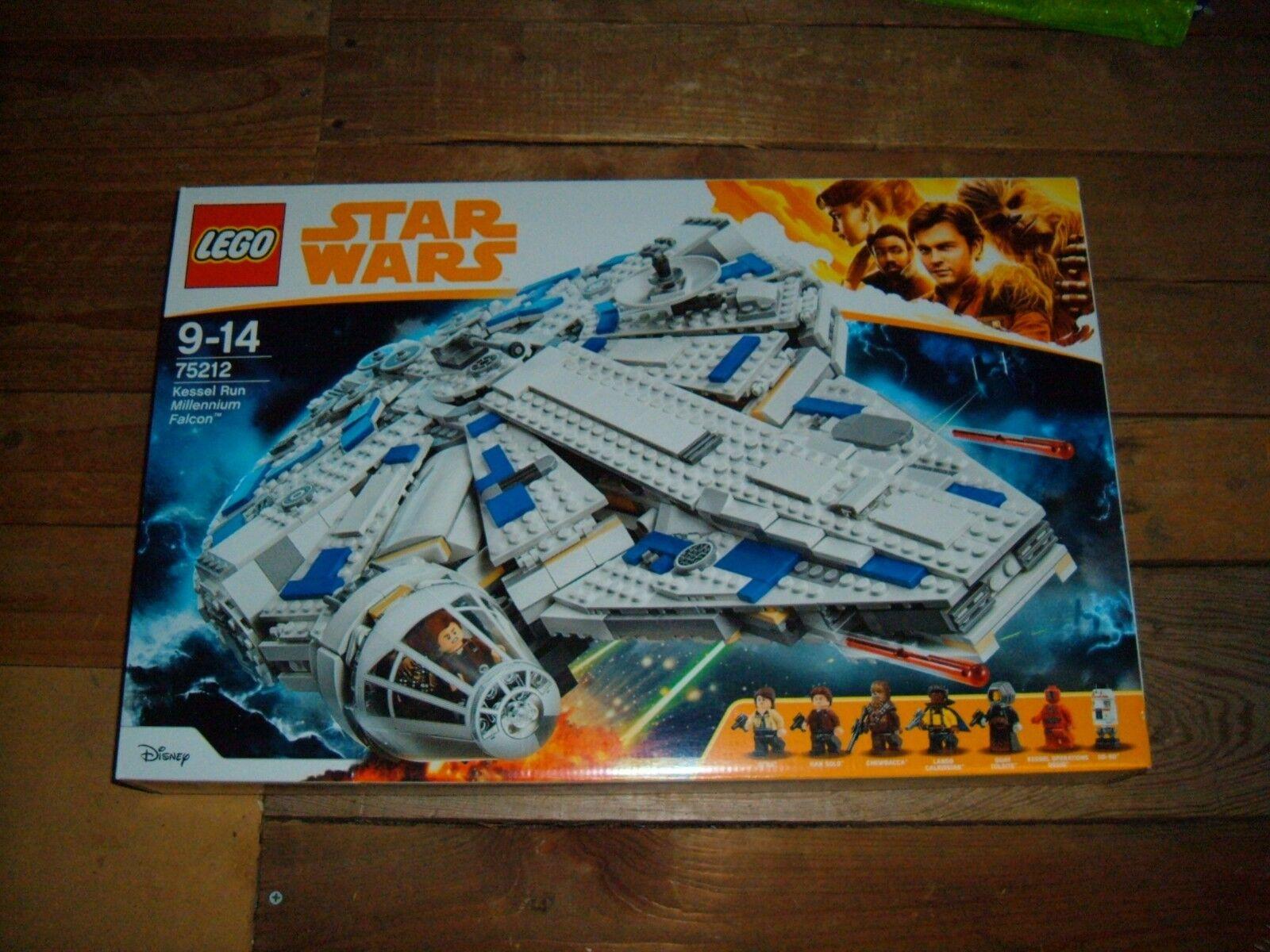 LEGO 75212 Star Wars Kessel Run Millennium Falcon BNIB