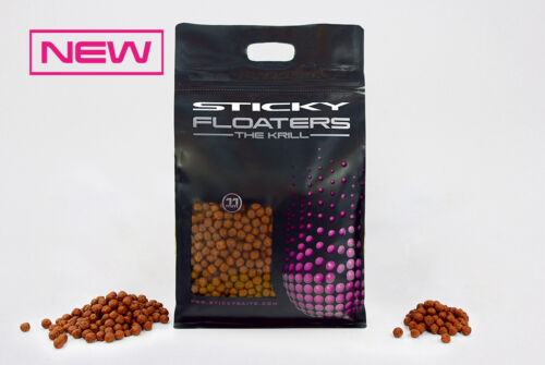 STICKY BAITS New THE KRILL FLOATERS 3Kg All Sizes!