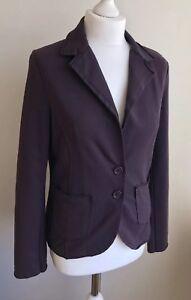 Ehrlich Bnwt Suzy D Ladies Purple Cotton Jacket Size S ??? Fettiges Essen Zu Verdauen Um Zu Helfen