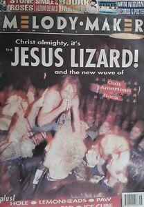 Melody Maker Music Magazine.December 4 1993.Jesus Lizard Cover.Stone Roses/Bjork