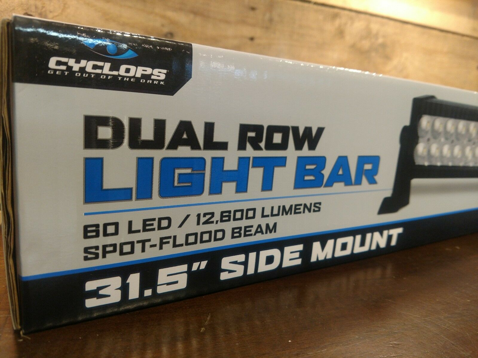 Cyclops Light Bar - DUAL ROW SIDE MOUNT  - 180W  support wholesale retail