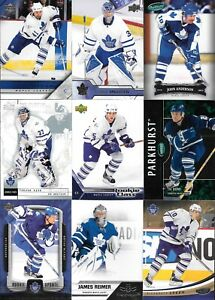 U-PICK-039-EM-LOT-70-Different-Toronto-Maple-Leafs-Players-base-collection-cards