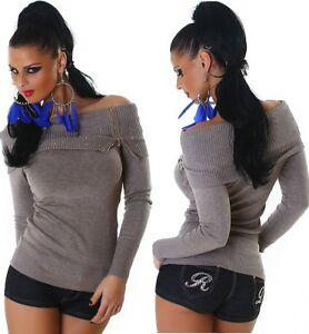 Borchie Jela Maglione Sweater Alto London Lungo Pullover Jumper Collo nYwxqYZrHI