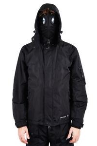 Seam Coat Inverno Nero logo Location Impermeabile Mens Grigio Hunter Goggle Argento Krigs Taped Giacca wpqva01