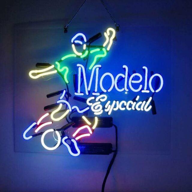 Modelo Especial Football Player Soccer Acrylic Neon Sign