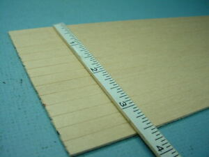 "Dollhouse handcut poplar wood siding material 1//2/"" x 11 1//2 x 1//16 75 pcs"
