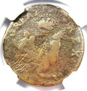 1670-New-Jersey-St-Patrick-Farthing-Colonial-Coin-1-4P-NGC-VG-Details