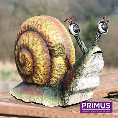 Primus Hand Crafted rural METAL ESCARGOT Décoration De Jardin Animal Sculpture Cadeau