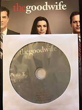 The Good Wife - Season 2, Disc 1 REPLACEMENT DISC (not full season)