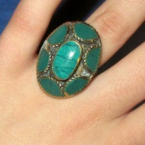 Ring-Oval-Afghan-Kuchi-Tribal-Alpaca-Silver-1-1-2-034-Size-9-to-10