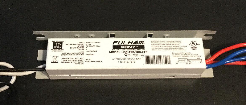 Fulham Sc-120-213-Lt5 Sugar Cube Ballast