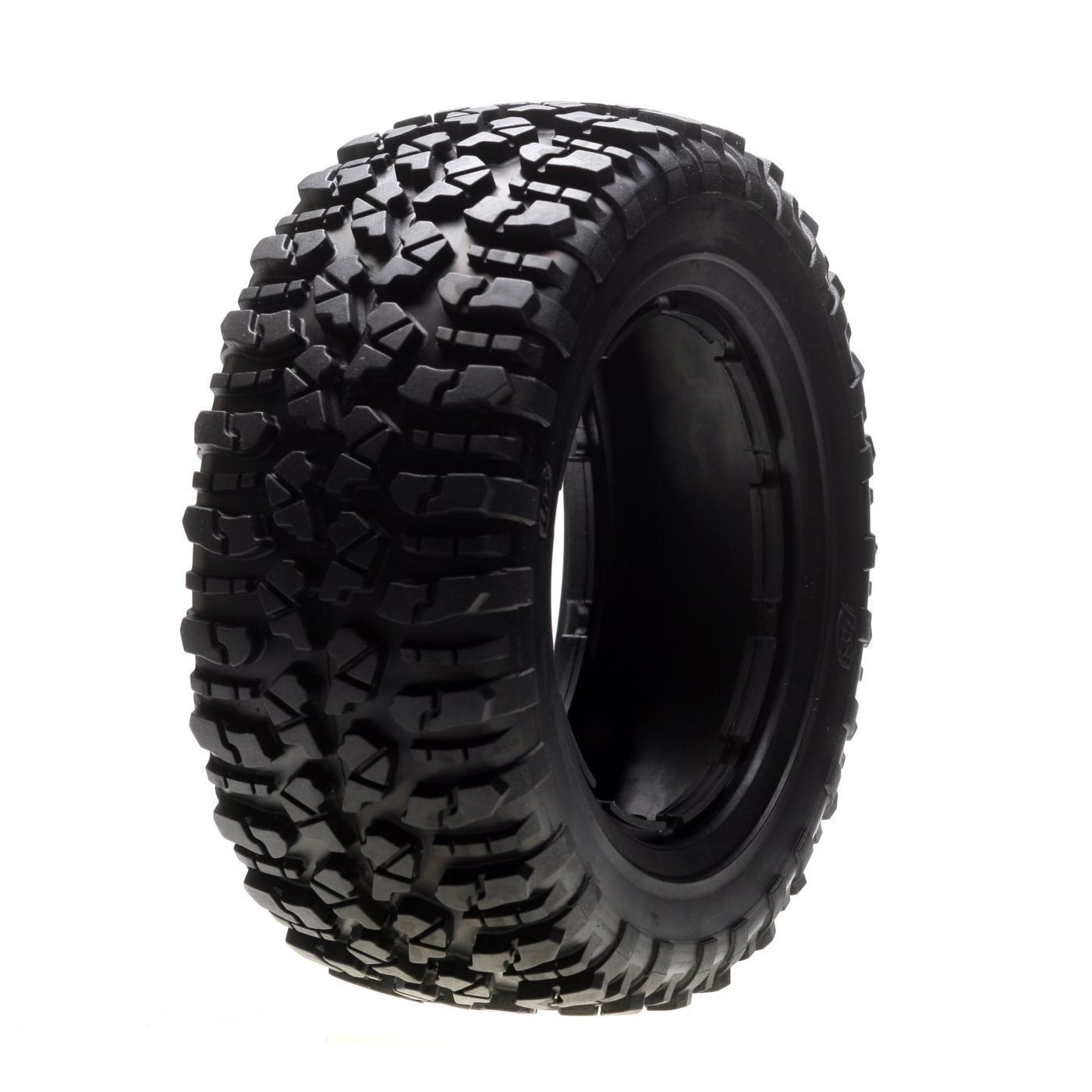 LOSI NOMAD 1 LEFT & 1 RIGHT (a pair) FIRM TYRE SET 5IVE-T SHORT COURSE LOSB7240